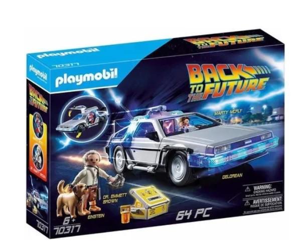 Playmobil -  De Volta ao Futuro Delorean 70317