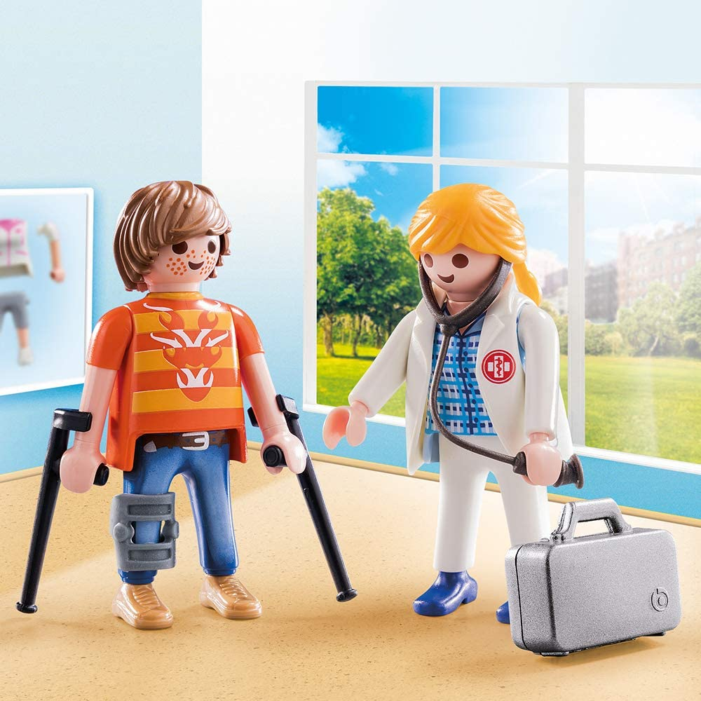 Playmobil Duo Pack - Doutor e Paciente 70079