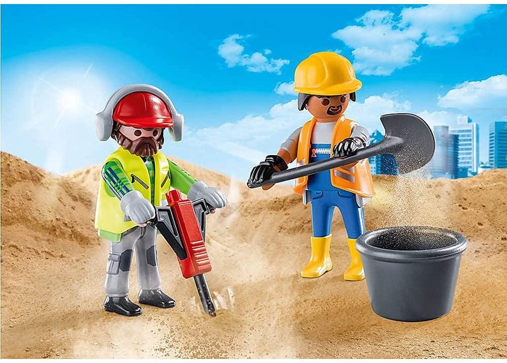Playmobil - Duo Pack Trabalhadores da Construção  70272