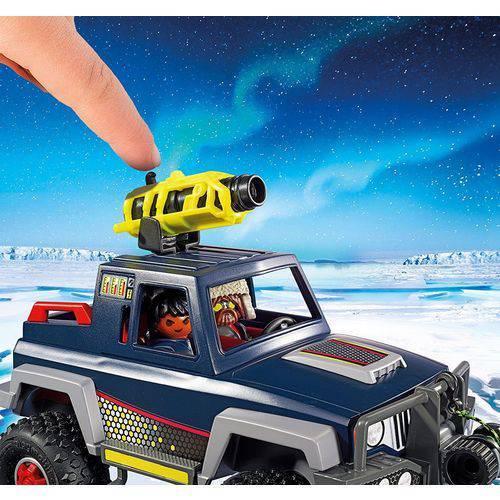 Playmobil Expedição Ártica - Pirata de Gelo com Jipe 9059