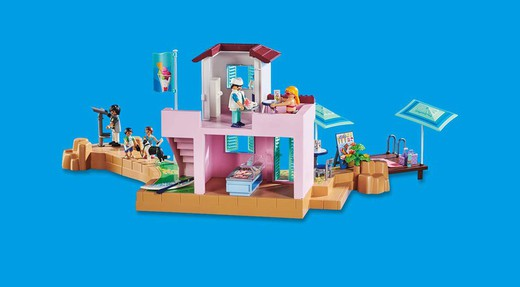 Playmobil Family Fun - Sorveteria á Beira-Mar 70276