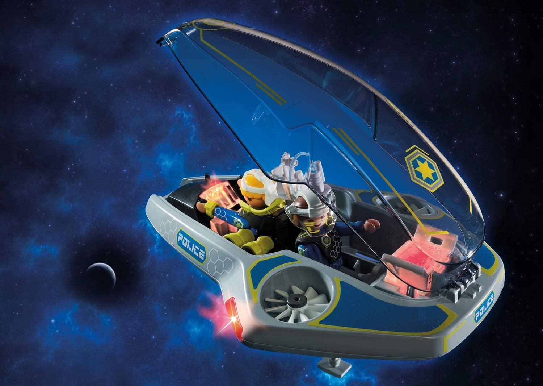 Playmobil Galaxy Police - Polícia Galáctica com Planador 70019