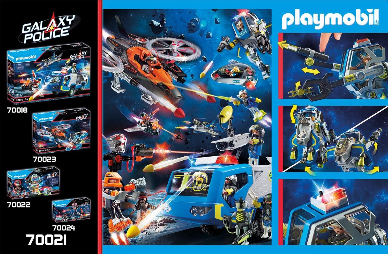 Playmobil Galaxy Police - Robô  da Polícia Galáctica 70021