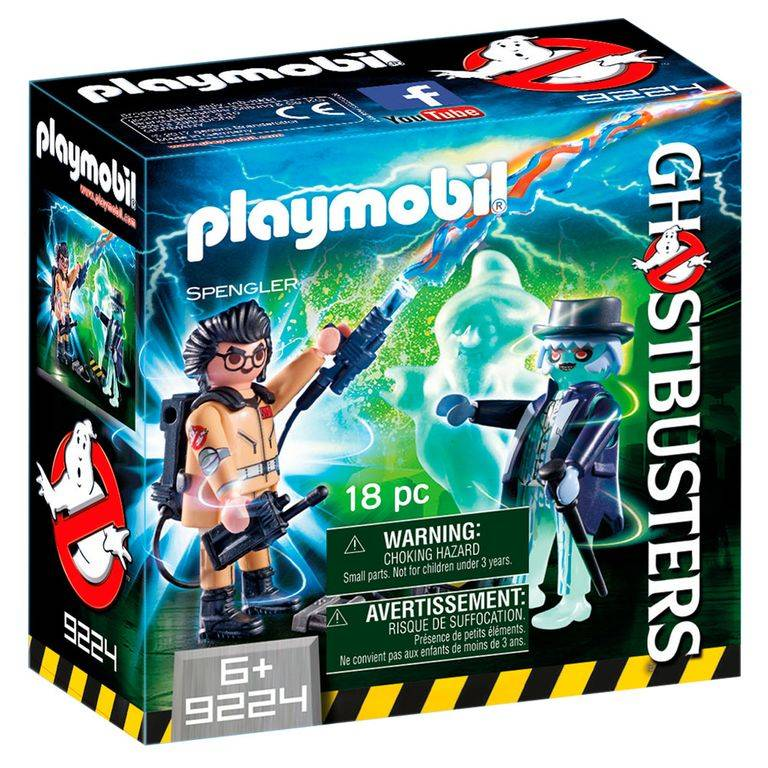 Playmobil Ghostbusters - Spengler e Fantasma