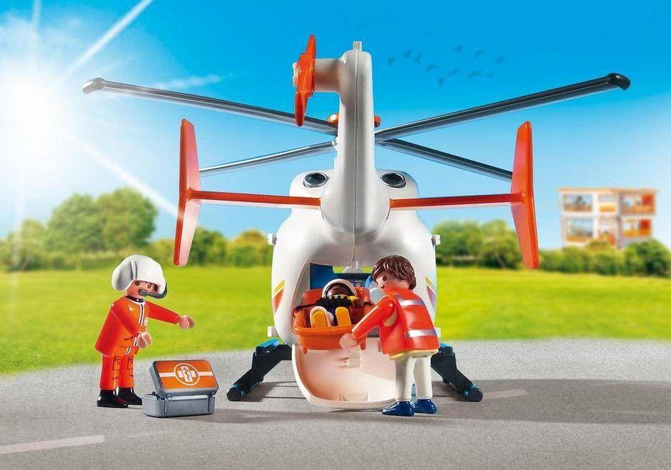 Playmobil Helicóptero de Emergência Médica