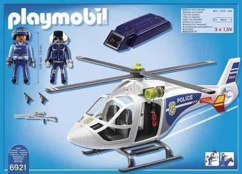Playmobil Helicóptero de Polícia