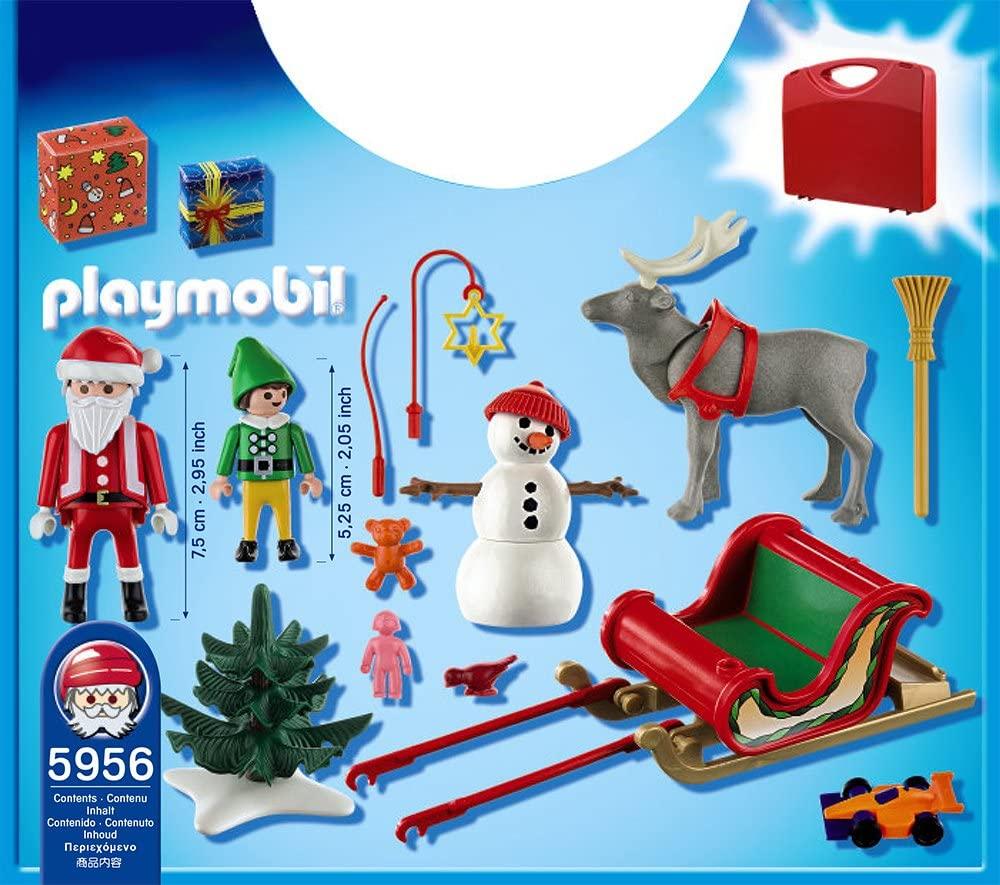 Playmobil - Maleta Trenó do Papai Noel  5956