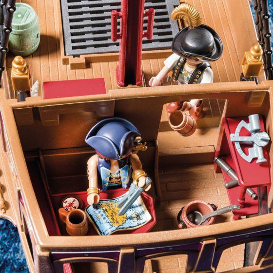 Playmobil Piratas -Barco Pirata Caveira 70411