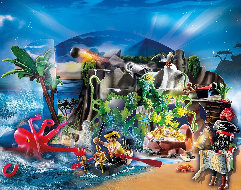 Playmobil Piratas - Calendário do Advento dos Piratas 70322