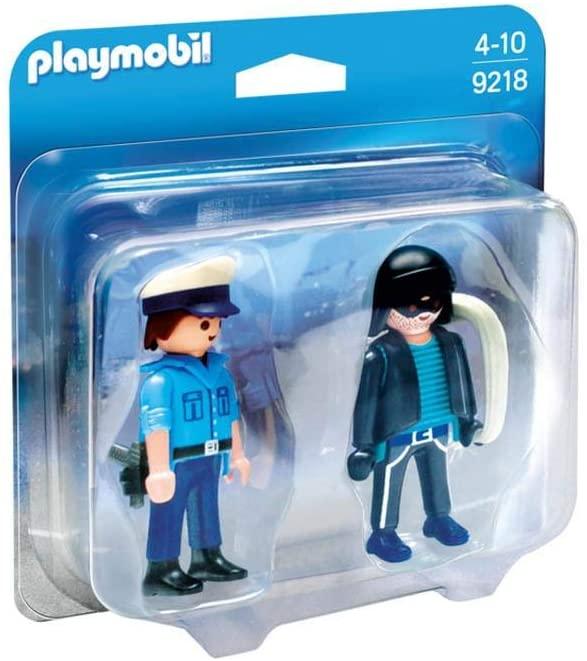 Playmobil City Action -  Policial e Bandido 9218