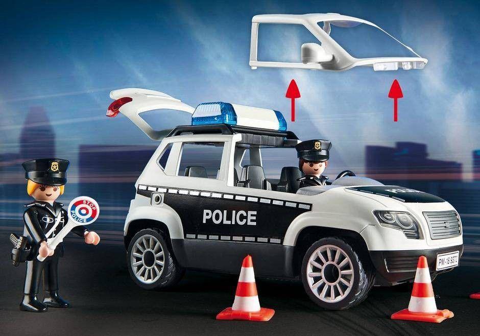 Playmobil Posto Policial com Heliporto