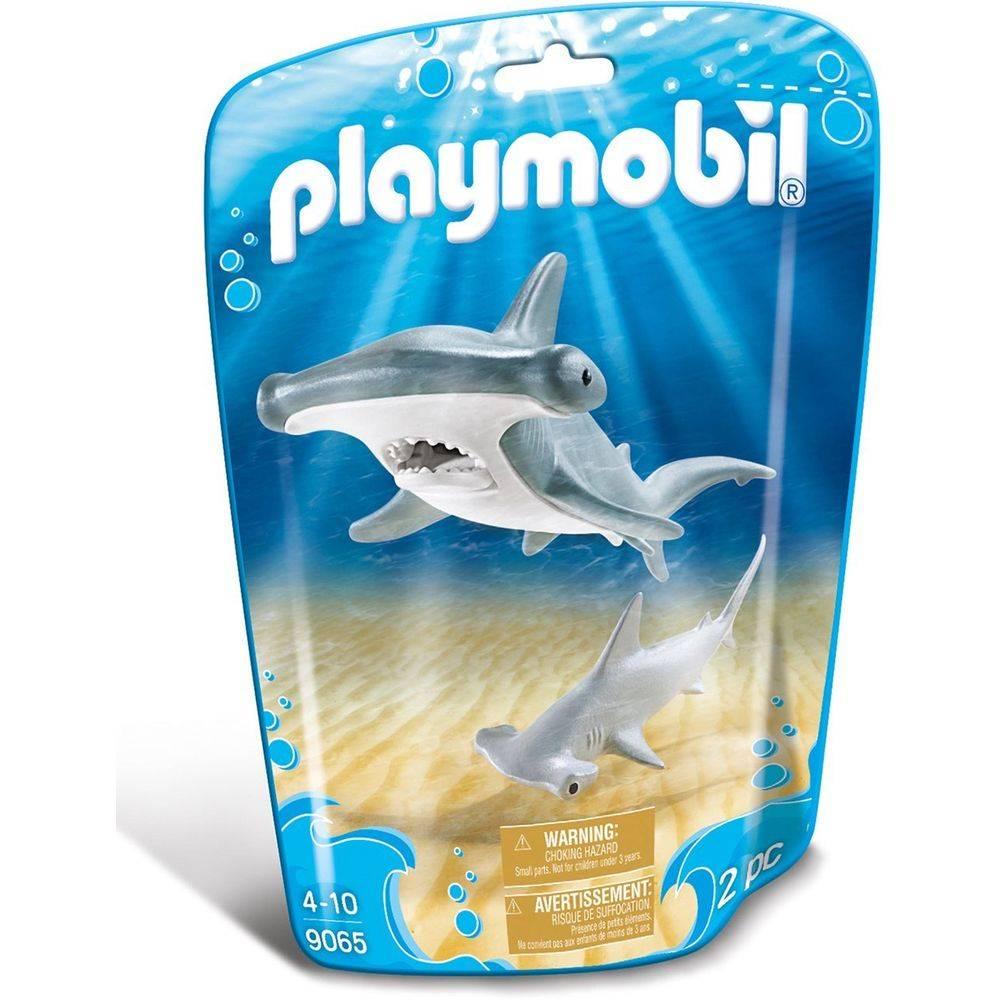 Playmobil Saquinho Animais Marinhos - Mãe e Filhote - Tubarão