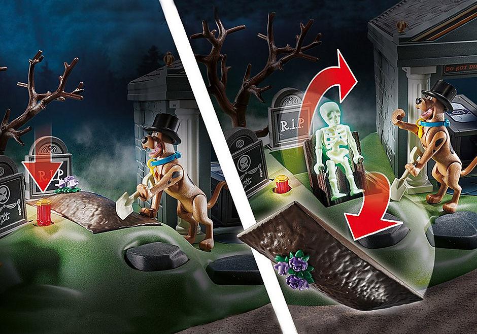 Playmobil Scooby-Doo - Aventura no Cemitério 70362