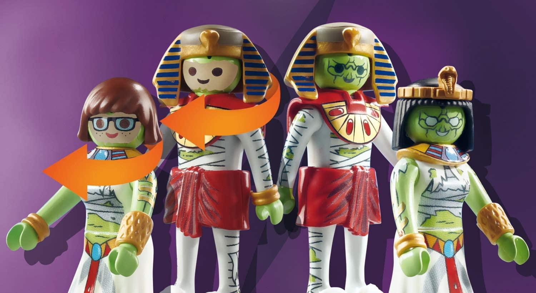 Playmobil Scooby- Doo -  Aventura no Egito Playset 70365