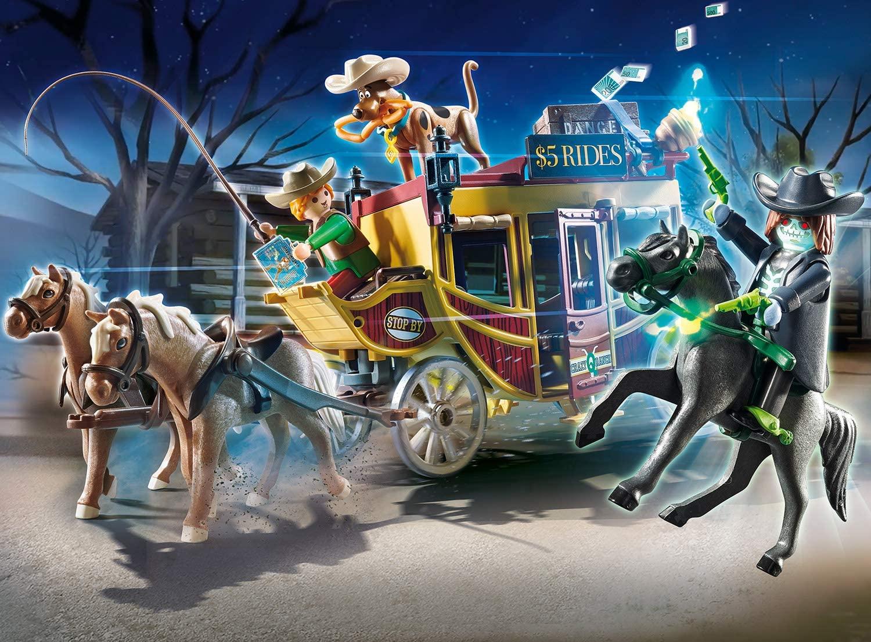 Playmobil Scooby-Doo - Aventura no Velho Oeste  Playset 70364