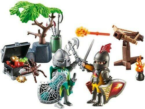 Playmobil  Starter Pack - Batalha pelo Tesouro dos Cavaleiros  70036