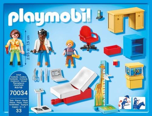 Playmobil Starter Pack -  Consultório Pediátrico - 70034