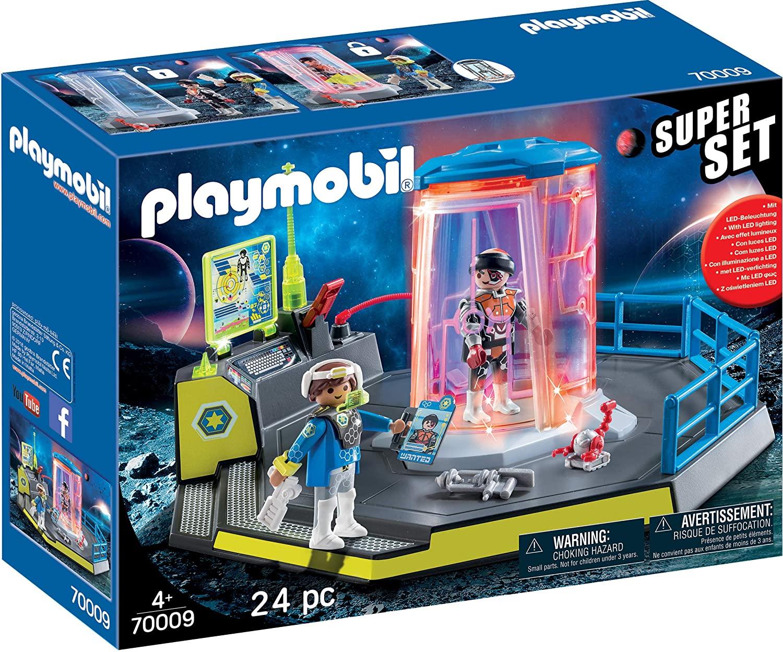Playmobil Super Set - Prisão da Polícia Galáctica 70009
