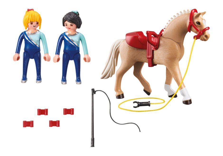 Playmobil Treinamento de Ginastas com Cavalo