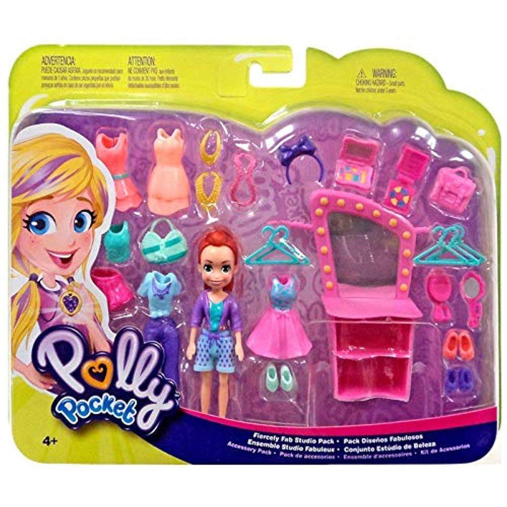 Polly Pocket - Conjunto Estúdio De Beleza