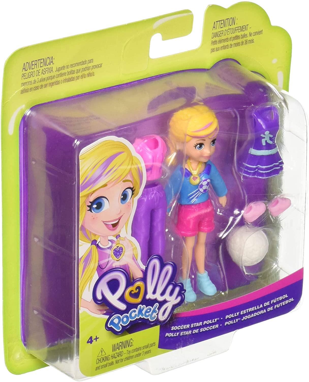 Polly Pocket -  Estrela do Futebol