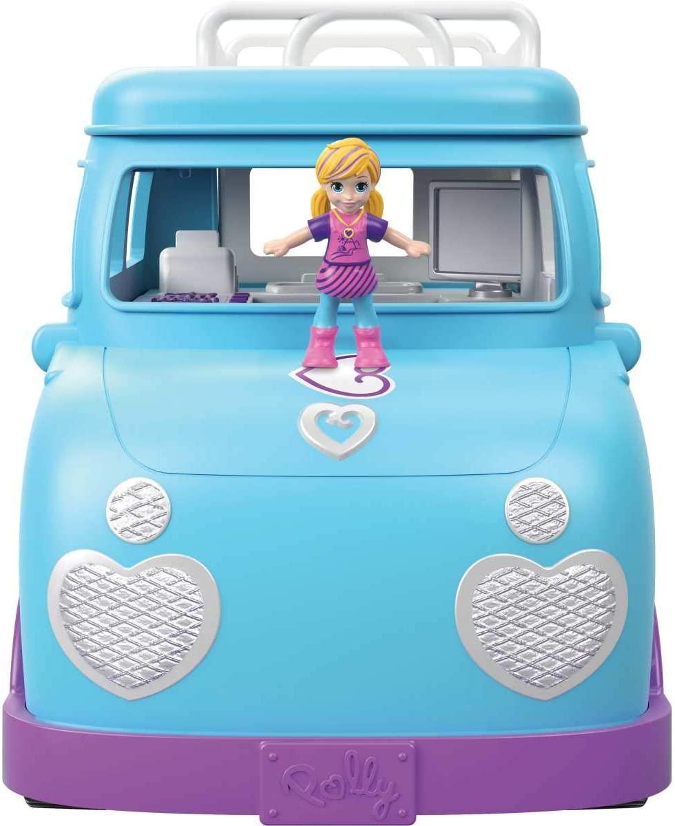 Polly Pocket -  Glamorosa Van de Campismo