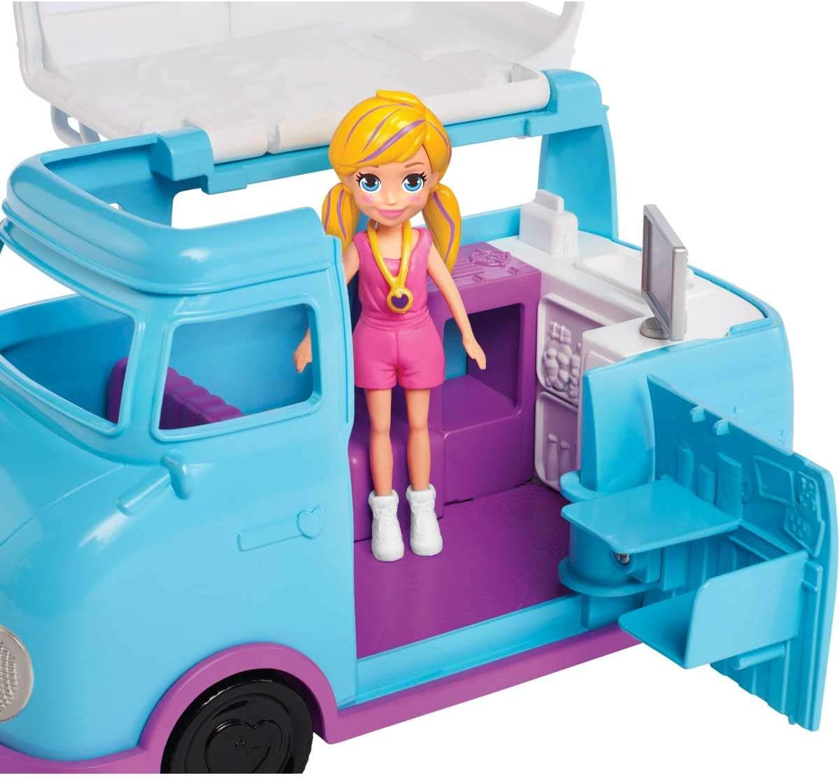 Polly Pocket -  Glamorosa Van de Campismo