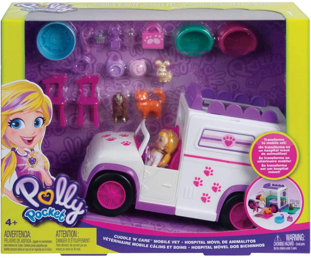 Polly Pocket - Hospital Móvel Dos Bichinhos