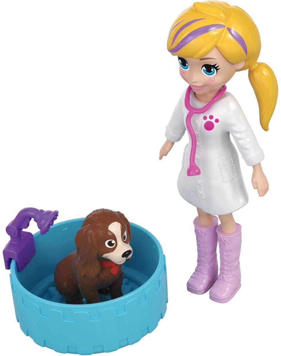 Polly Pocket - Hospital Móvel Dos Bichinhos
