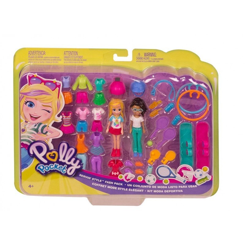 Polly Pocket - Kit Moda Esportiva