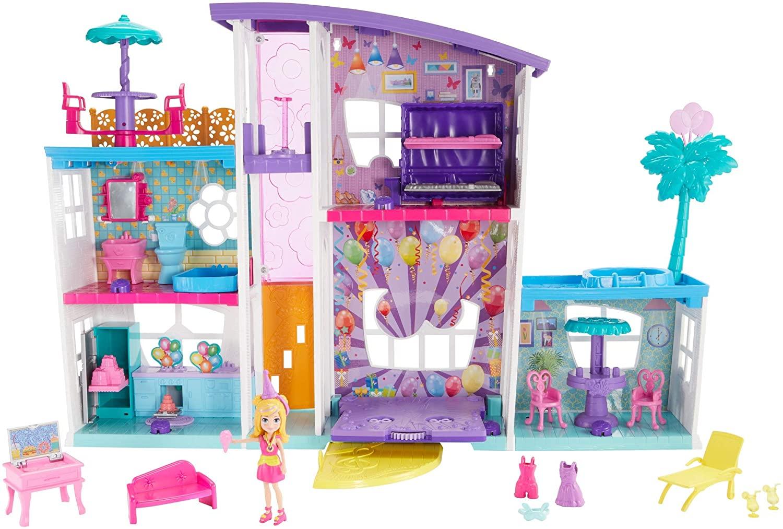 Polly Pocket -  Mega Casa De Surpresas