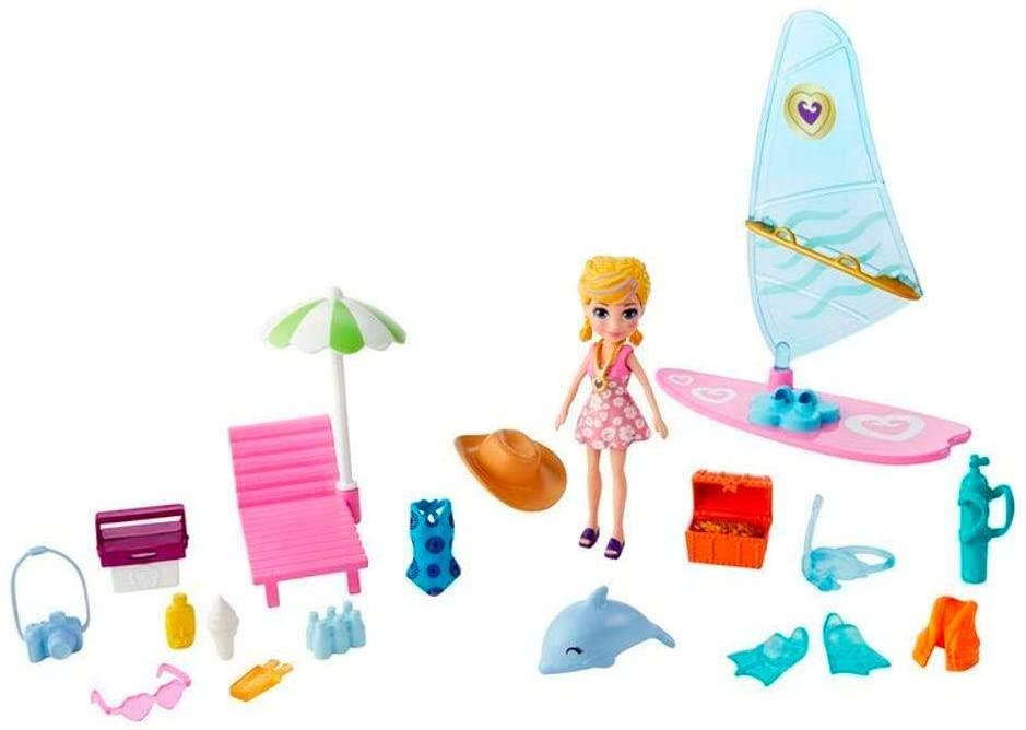 Polly Pocket -  Polly  Aventura na Praia