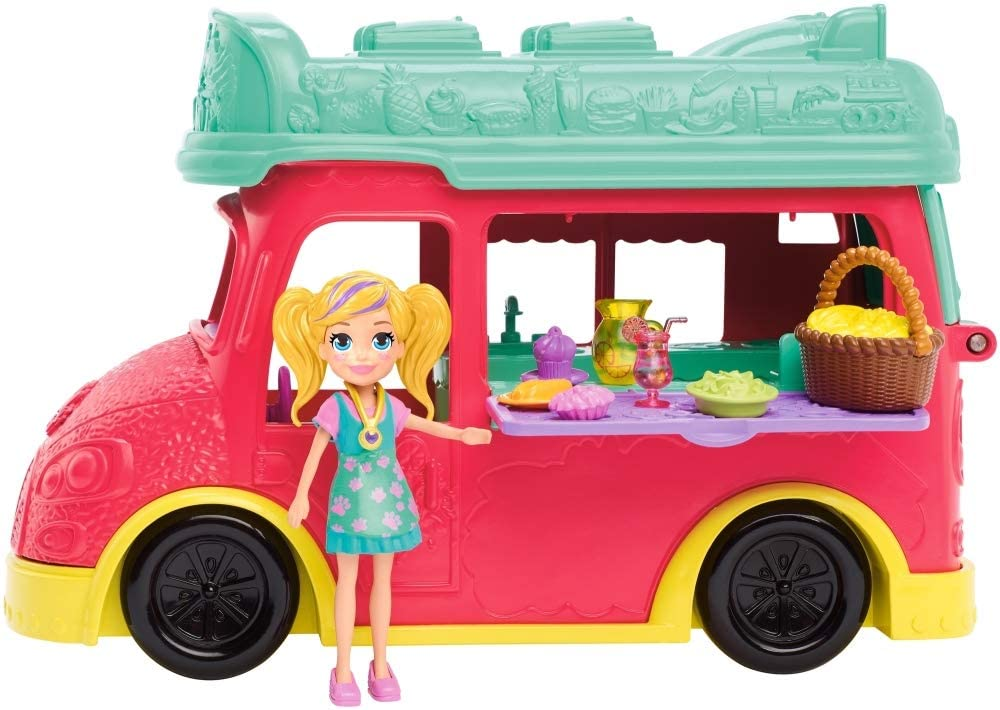 Polly Pocket - Smoothies Food Truck 2 Em 1
