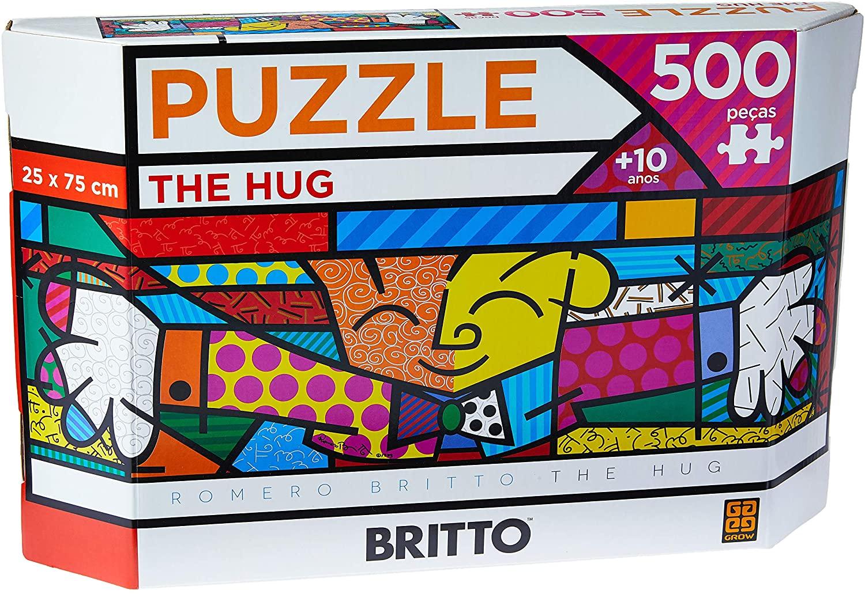 Quebra Cabeça - 500 peças Panorama Romero Britto The Hug