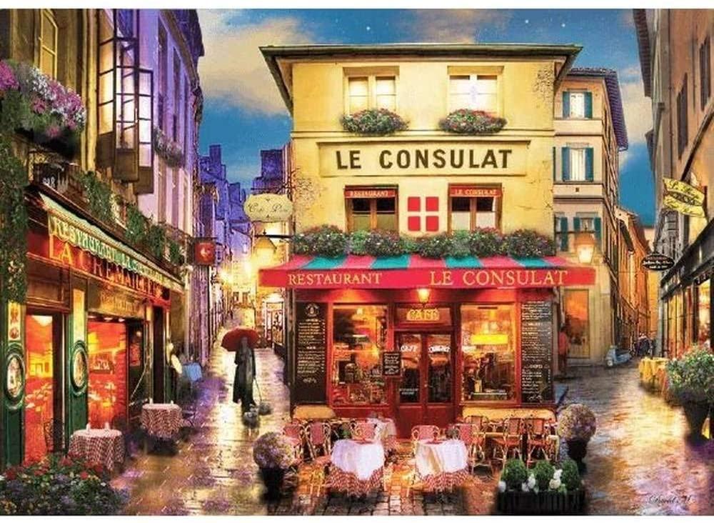 Quebra Cabeça - Café em Paris 500 peças