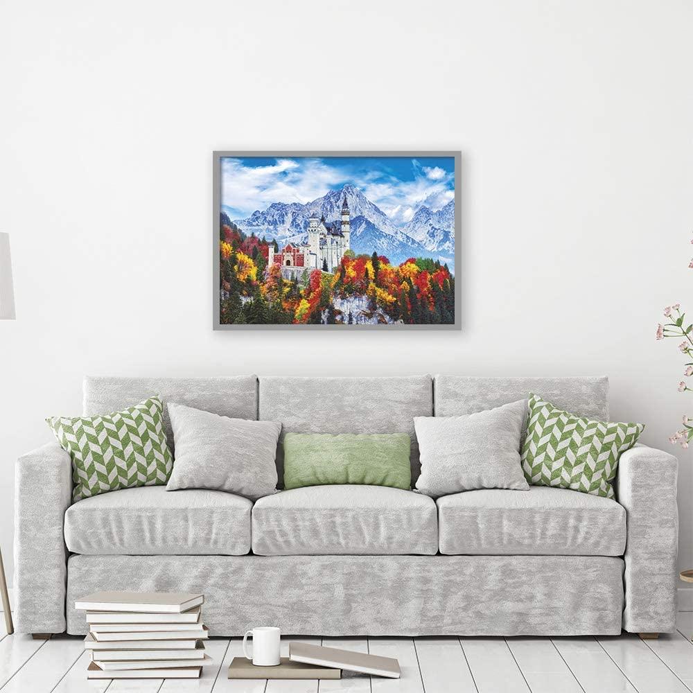 Quebra Cabeça -  Castelo de Neuschwanstein 1000 peças