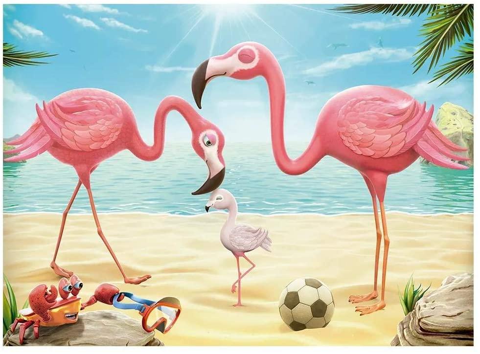 Quebra Cabeça - Flamingos 60 peças