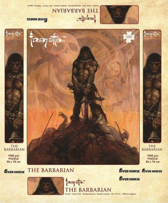 Quebra-Cabeça FRANK FRAZETTA - The Barbarian - 1000 Peças