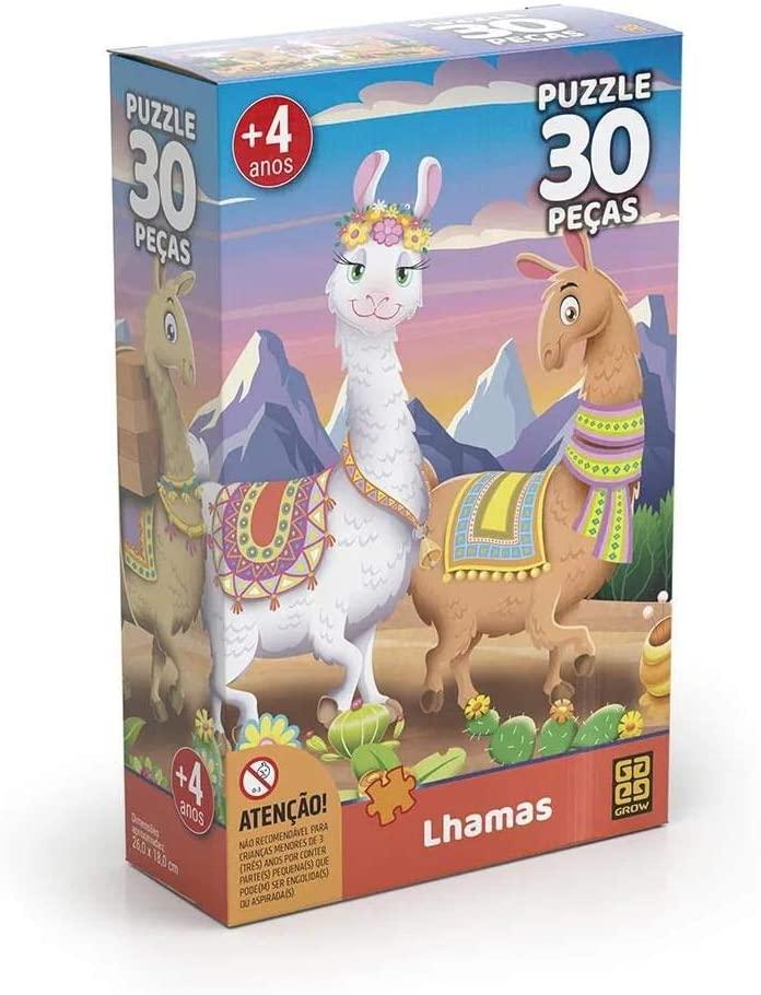 Quebra Cabeça - Lhamas 30 peças
