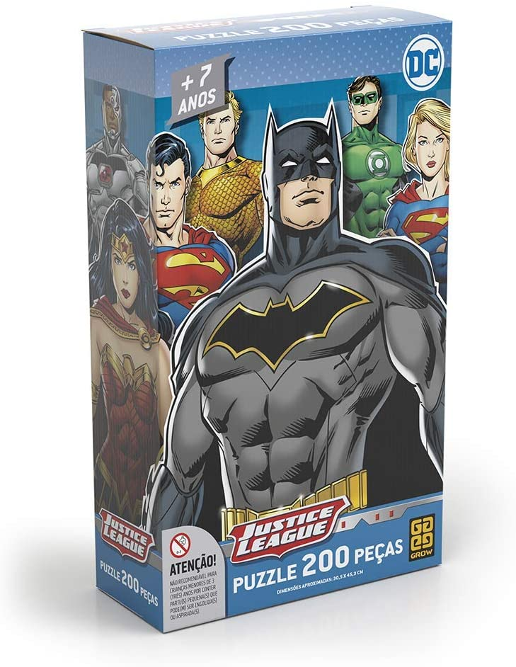 Quebra Cabeça - Liga da Justiça 200 peças