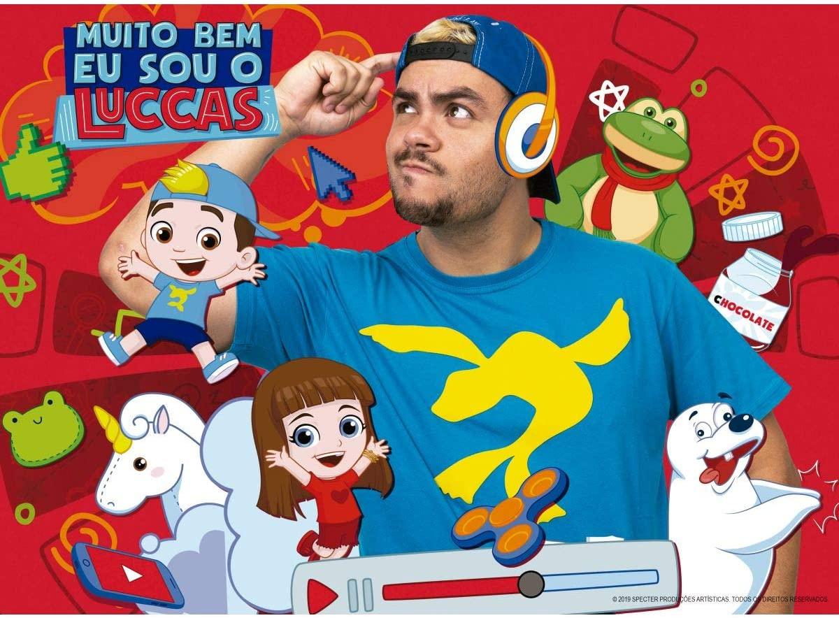 Quebra Cabeça - Luccas Neto 60 peças