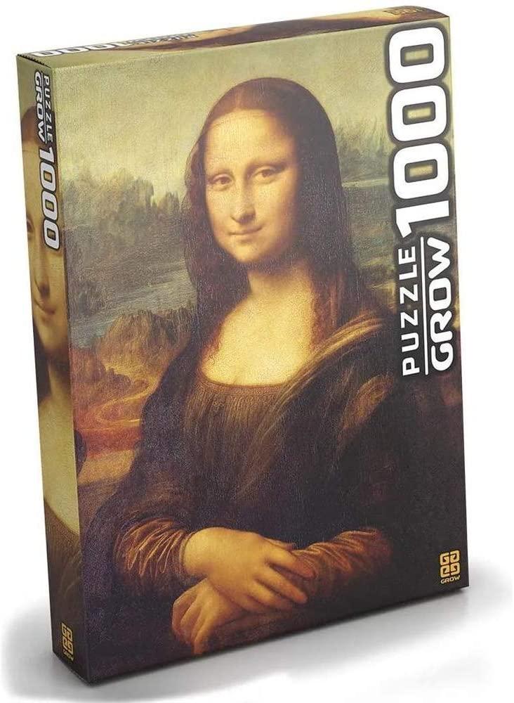 Quebra Cabeça - Monalisa 1000 peças