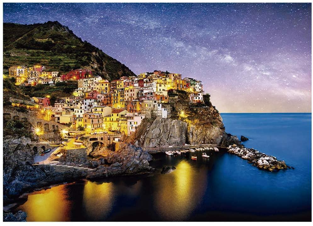 Quebra Cabeça - Noite Em Cinque Terre 1000 peças