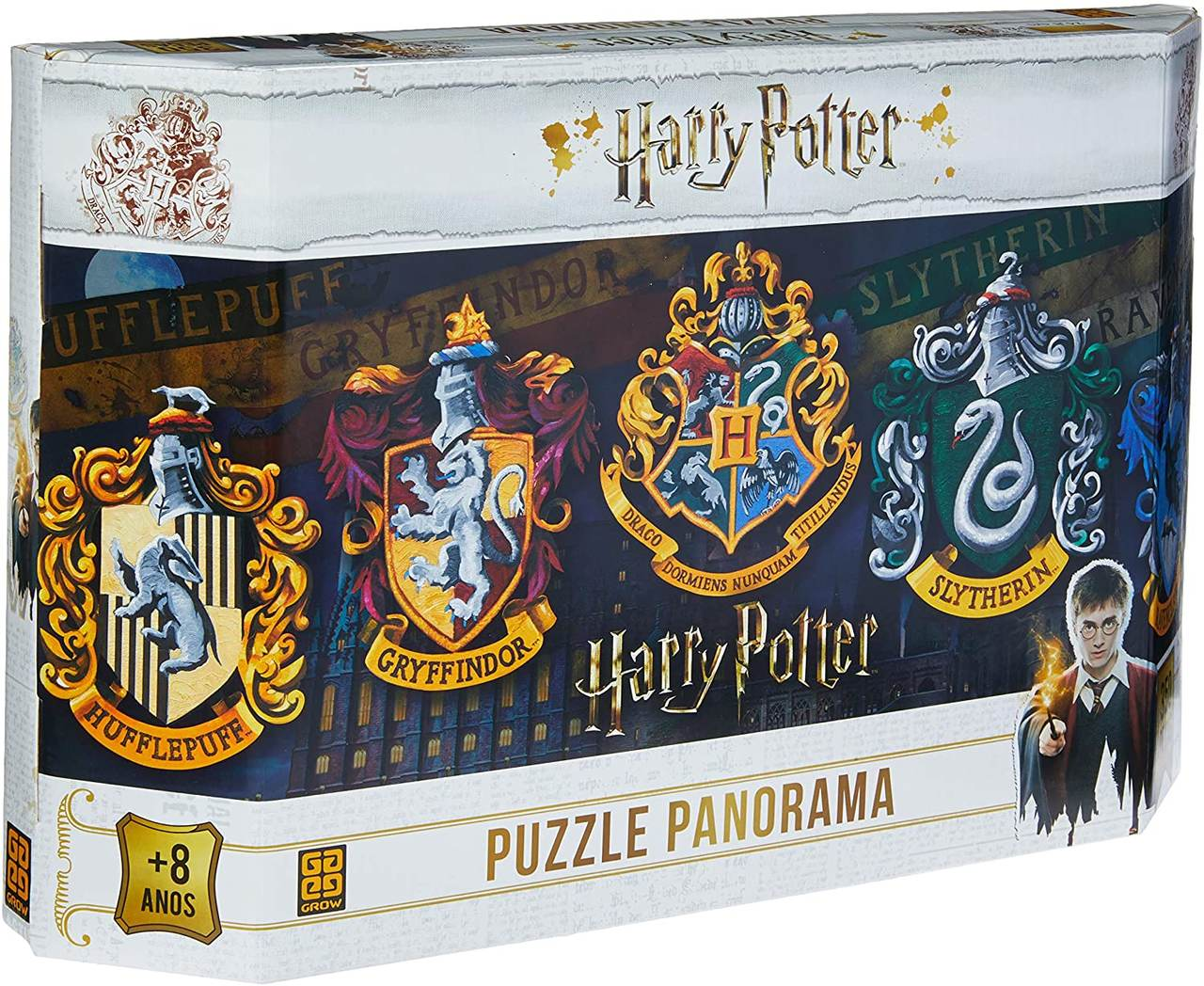 Quebra Cabeça - Panorama Harry Potter 350 peças
