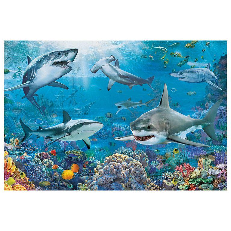 Quebra Cabeça - Tubarões 150 peças