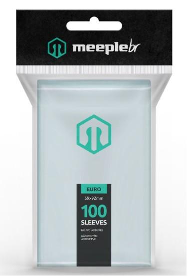 Sleeves MeepleBR - EURO (59 X 92mm)