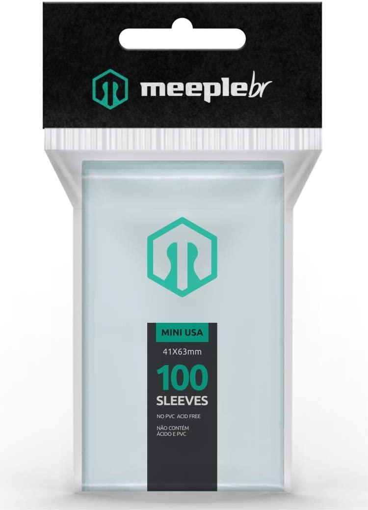 Sleeves MeepleBR - MINI USA (41x63mm)