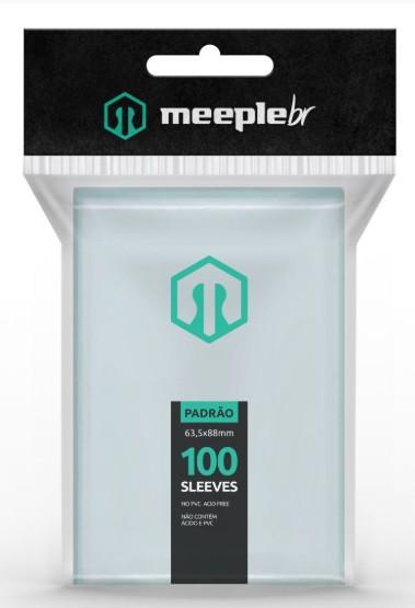 Sleeves MeepleBR - PADRÃO (63,5 x 88 mm)