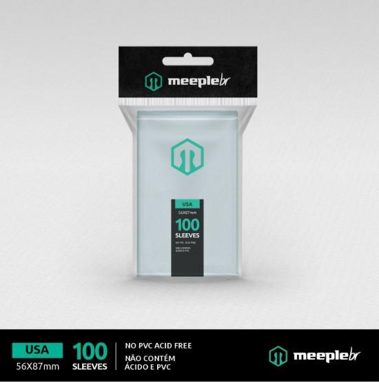 Sleeves MeepleBR - USA (56x87mm)