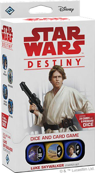Star Wars Destiny - Luke Skywalker (pacote Inicial)